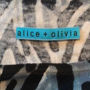 Alice + Olivia Dresses - Alice + Olivia silk cashmere sweater dress sz.M